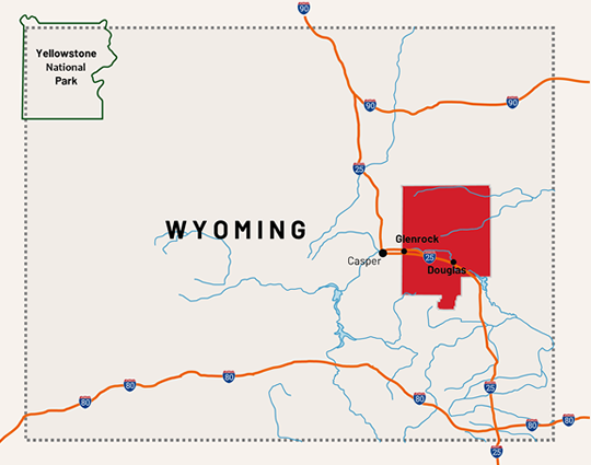 Visit Converse County, Wyoming